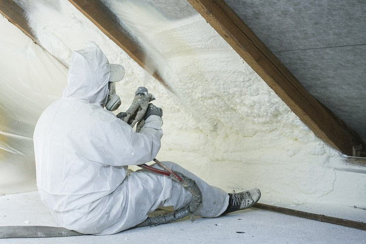 Spray Foam Insulation - Vaughan