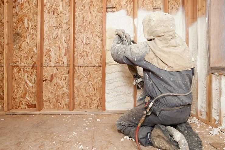 Spray Foam Insulation - Markham
