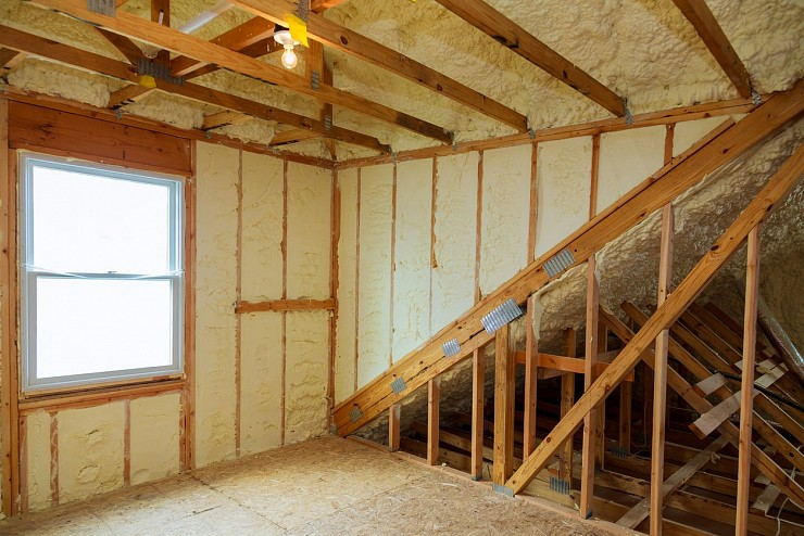 Spray Foam Insulation - Burlington