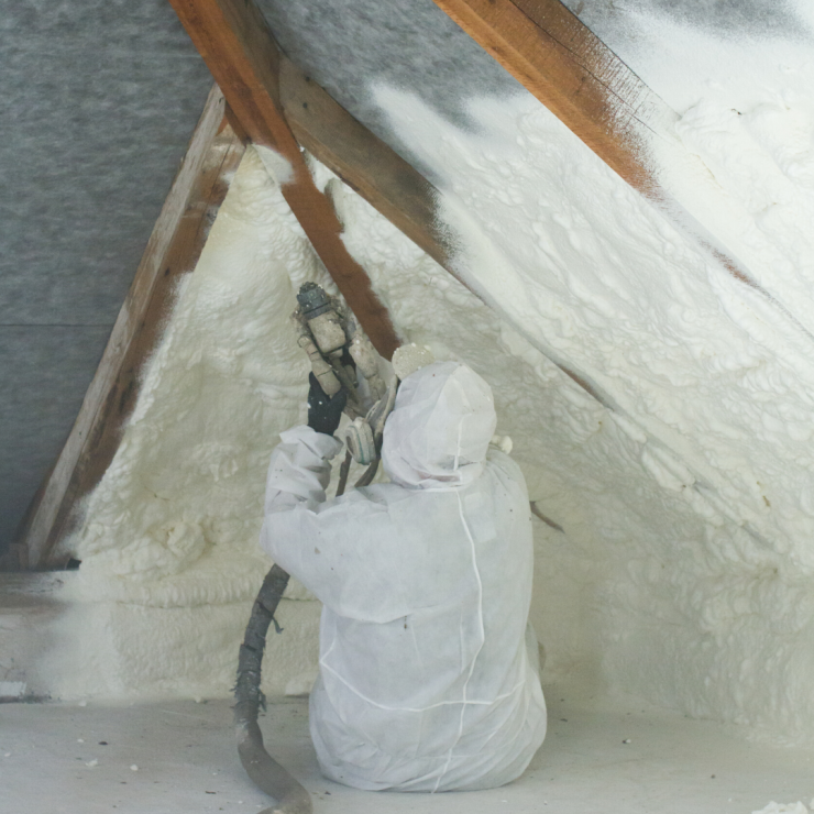 Benefits of Using Both Spray Foam & Blown-In Attic Insulation Together
