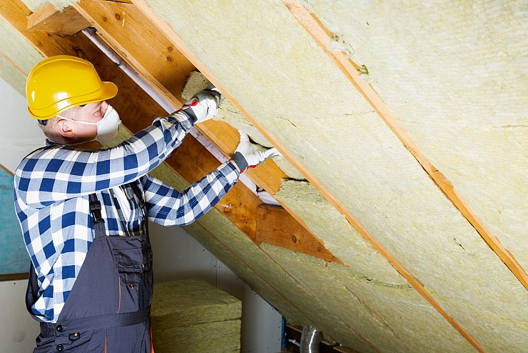 Attic Insulation in Burlington